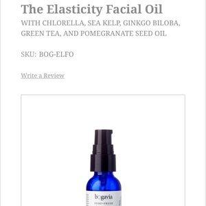 BRAND NEW Bogavia Pure + Fresh Elasticity Face Oil